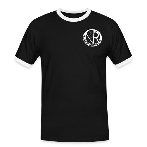 VeganRunners Logga gif - Kontrast-T-shirt herr