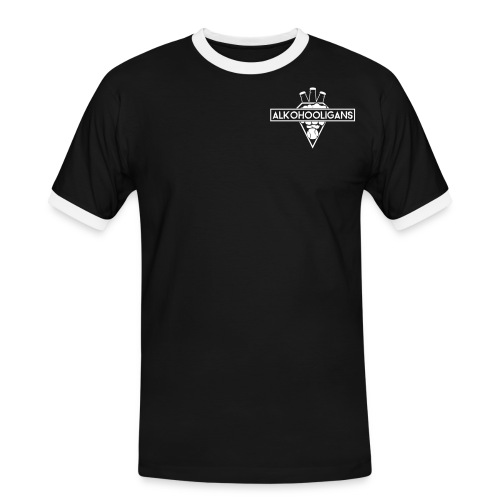 VECTOR_AI_alkohooligans_l - Männer Kontrast-T-Shirt