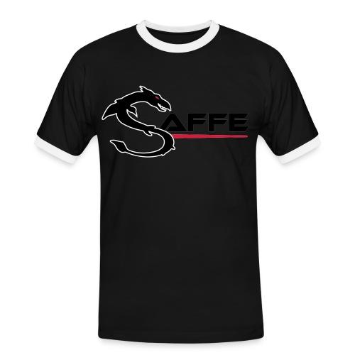 saffe logo - Männer Kontrast-T-Shirt