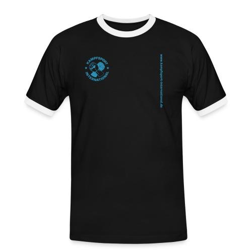 kiwebsite - Männer Kontrast-T-Shirt