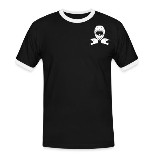 LOGO WEISS png - Männer Kontrast-T-Shirt