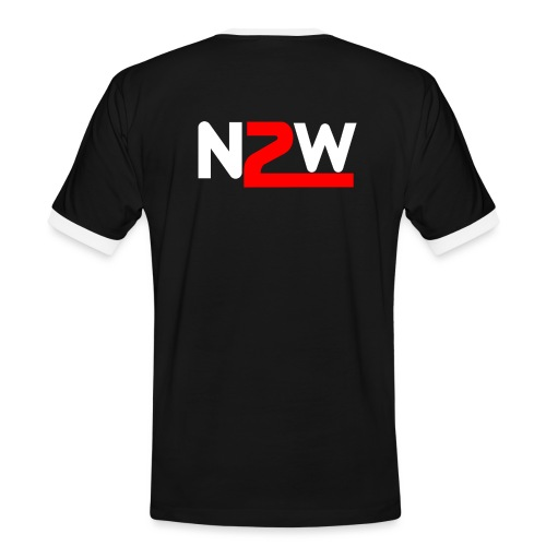 Logo Nico2Wheels Simple - T-shirt contrasté Homme