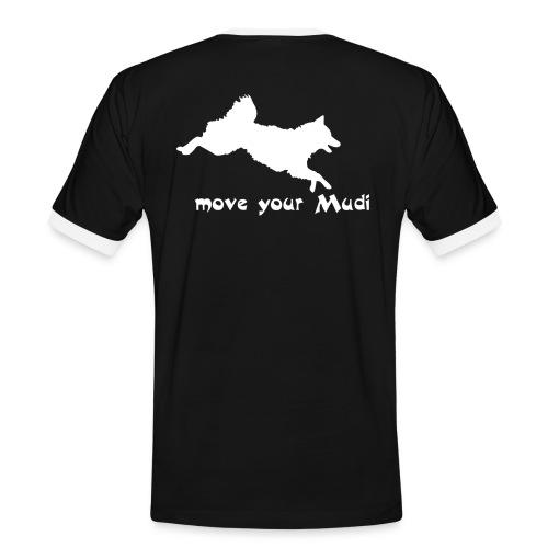 moyomu white - Men's Ringer Shirt