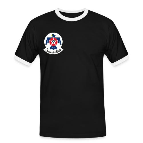 thunderbirdslogo - Men's Ringer Shirt