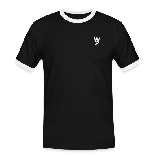 WayanoBoss WB png - Mannen contrastshirt