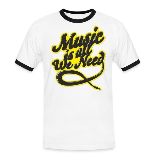 Music Is All We Need - Men's Ringer Shirt