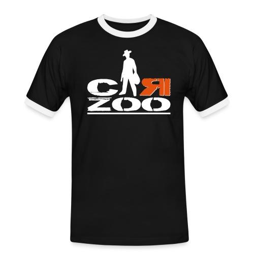 logo definitif en 2 parti - T-shirt contrasté Homme