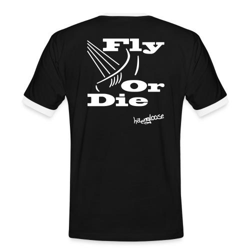 flyordie - Männer Kontrast-T-Shirt