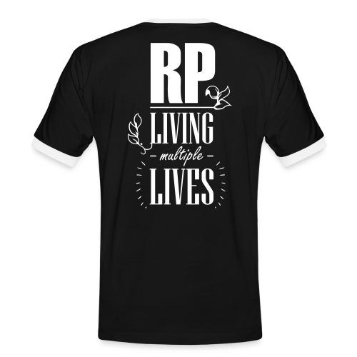 Role play - Living multiple lives - Herre kontrast-T-shirt