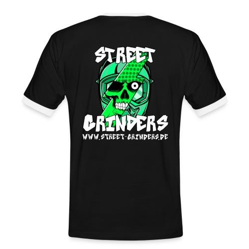 Street Grinders Merch Grün - Männer Kontrast-T-Shirt