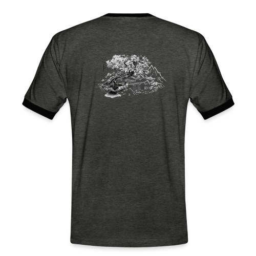 TempleSHITO transp GIF - T-shirt contrasté Homme