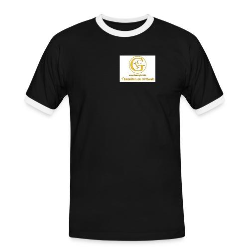 totalavnt - T-shirt contrasté Homme