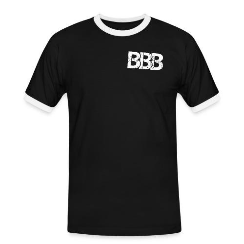 nur BBB gif gif - Männer Kontrast-T-Shirt