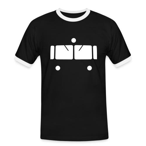 VT95_vorne - Männer Kontrast-T-Shirt