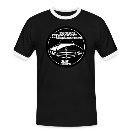There is no replacement for displacement 2farbig - Men's Ringer Shirt
