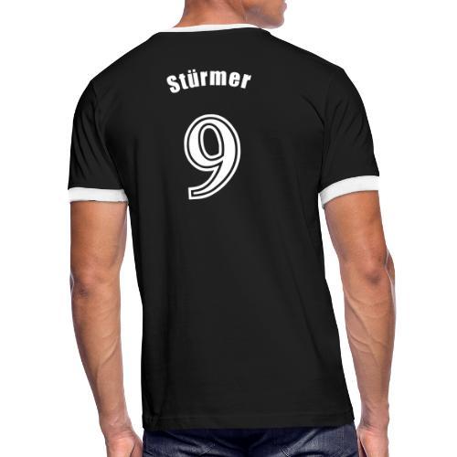 Stürmer - Männer Kontrast-T-Shirt