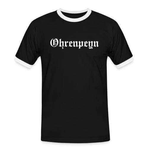 ohrenpeyn schrift - Männer Kontrast-T-Shirt