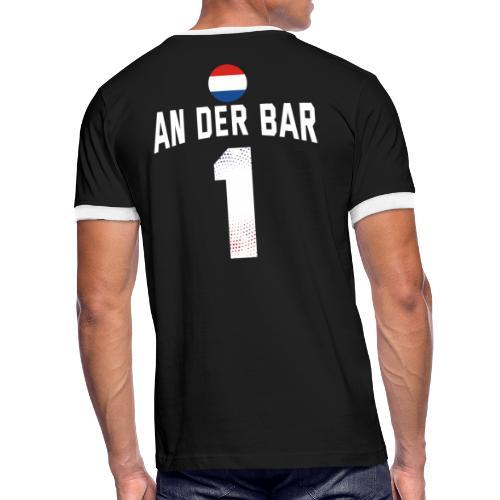 An Der Bar Niederlande Holland Party Sauftrikot - Männer Kontrast-T-Shirt