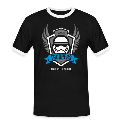 Webstorm Troopers dreifarbig - Männer Kontrast-T-Shirt