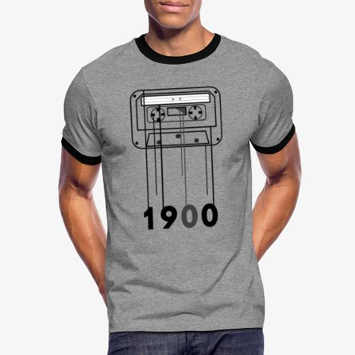 Cassette 1900 - Camiseta contraste hombre