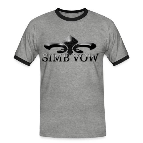 sans titre3 - T-shirt contrasté Homme