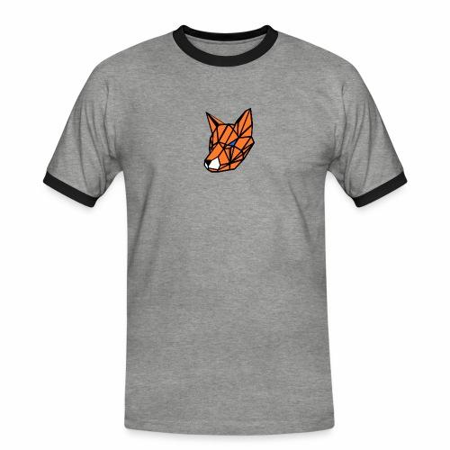 renard geometrique - T-shirt contrasté Homme