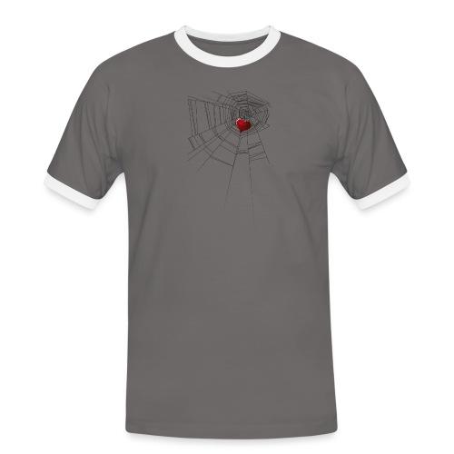trappola_del_cuore - Maglietta Contrast da uomo