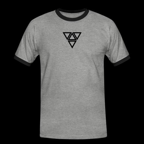 triangle - Maglietta Contrast da uomo