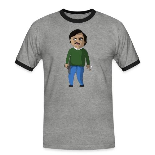 PABLO - T-shirt contrasté Homme