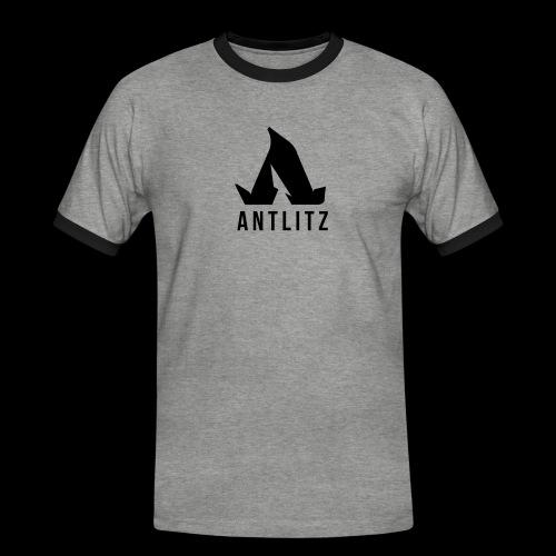 Antlitz - Männer Kontrast-T-Shirt