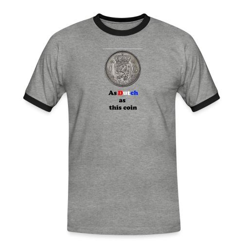 Hollandse Gulden - Mannen contrastshirt