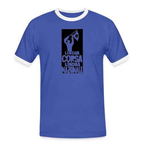 lingua corsa - T-shirt contrasté Homme