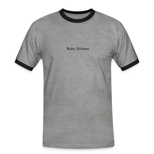 Ruby Holaman - T-shirt contrasté Homme