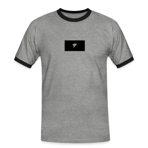 POPA - Männer Kontrast-T-Shirt