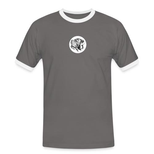 Treat me well - Herre kontrast-T-shirt