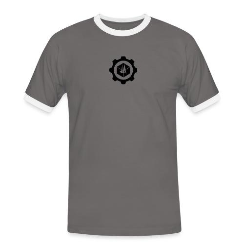 Jebus Adventures Logo (Transparent) - Men's Ringer Shirt