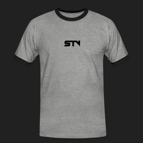 STV Logo Black - Men's Ringer Shirt