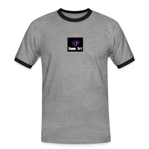 Send It Streetwear galaxy Tee - Men's Ringer Shirt