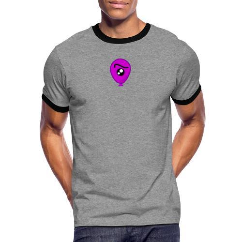 EyeBalloon - Mannen contrastshirt