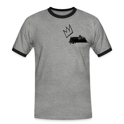 Crown King png - Men's Ringer Shirt