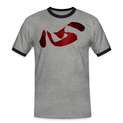 KOKORO KANJI - T-shirt contrasté Homme