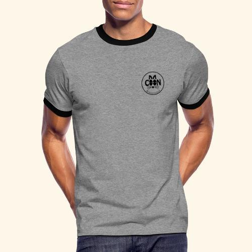 Coon Electronic transparent - T-shirt contrasté Homme