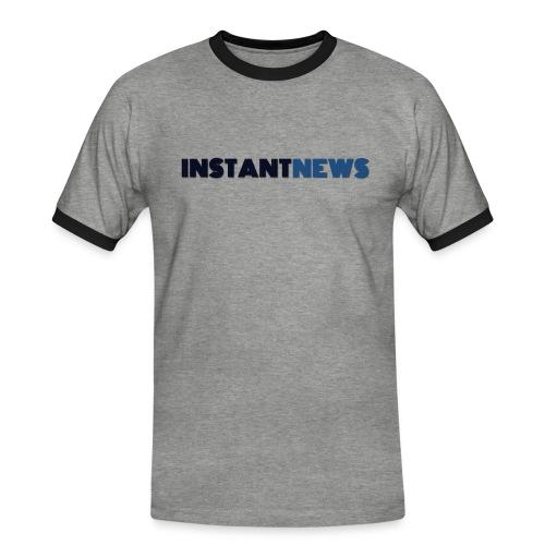 instantnews - Maglietta Contrast da uomo