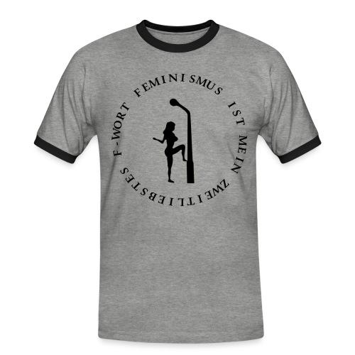 Feminismus - Männer Kontrast-T-Shirt