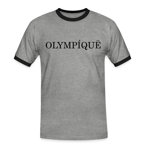 OLMPQ - Mannen contrastshirt