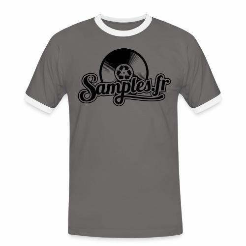 Gris / Noir (H / F) - T-shirt contrasté Homme