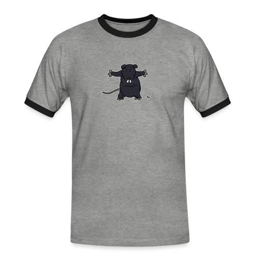 Henkie the Plush Rat - Maglietta Contrast da uomo