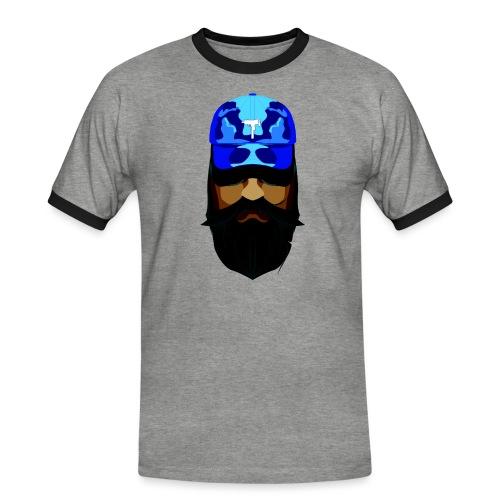 T-shirt gorra dadhat y boso estilo fresco - Camiseta contraste hombre