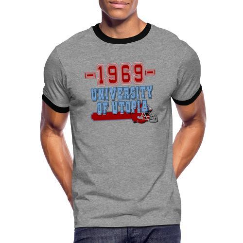 xts0398 - T-shirt contrasté Homme