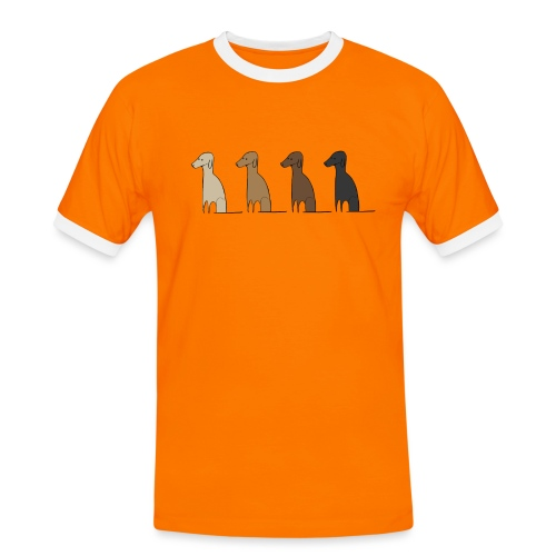 Logo Kusei - Männer Kontrast-T-Shirt